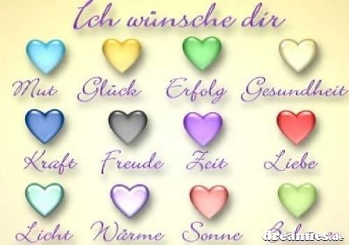 поздравление любимому на немецком с переводом