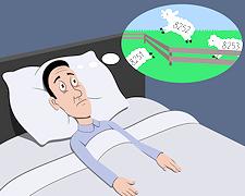 Schlaflos im eigenen Bett - Die besten Einschlaftipps