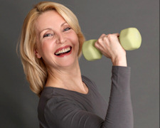 Fit, gesund und lebenslustig - Workout 50plus