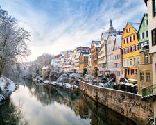 Silvester im romantischen Tübingen am Neckar